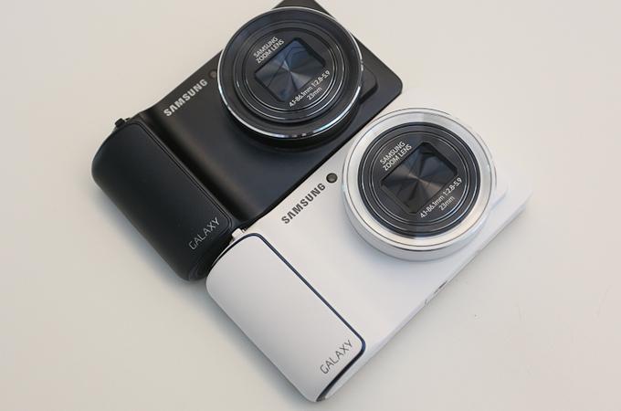 갤럭시카메라 흰색, 검정색