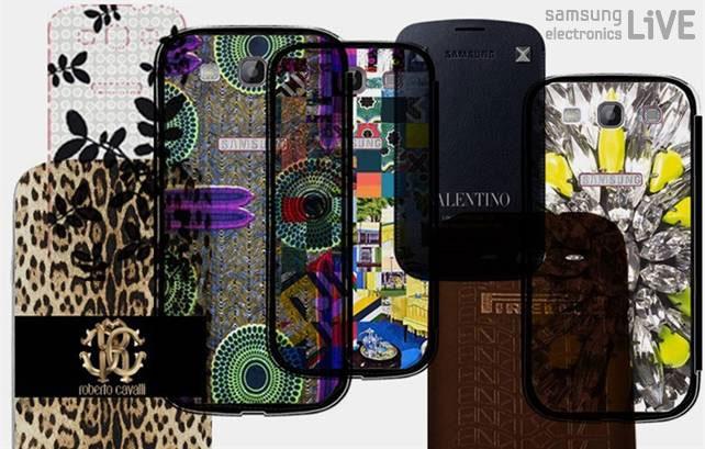 다양한 Galaxy SIII 커버 디자인