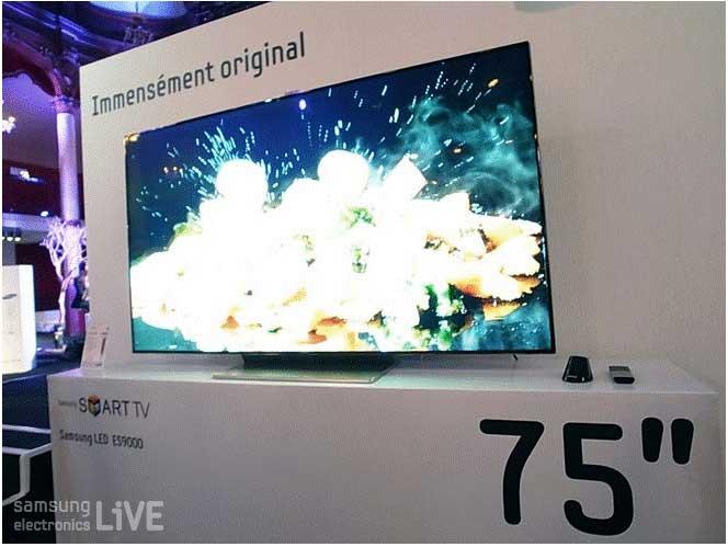 모션컨트롤 기능을 가진 삼성전자 스마트 TV