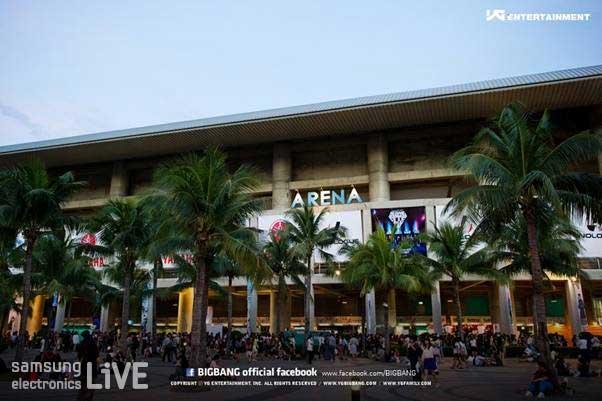 IMPACT ARENA(각종 다양한 전시회, 컨벤션, 콘서트가 열리는 곳)