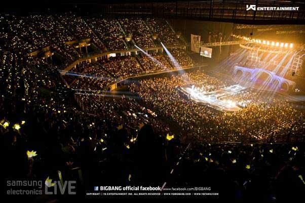 2만여 관객이 모인 콘서트장