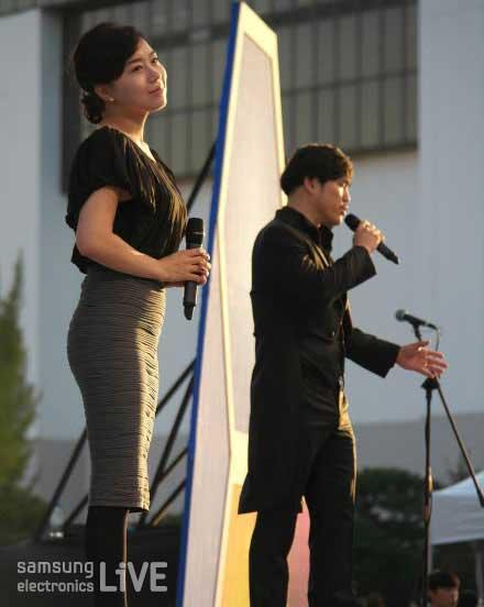 박준서, 한가영의 팝페라 가수