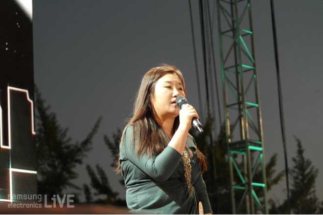 노래하는 FAB3그룹(S.LSI) 서은혜 사원