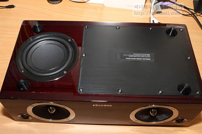 삼성 오디오독 DA-E750 아랫부분