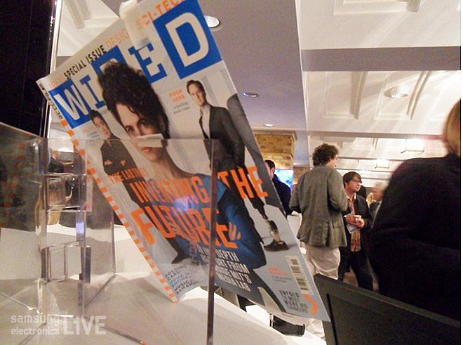 WIRED 2012 행사장 전시물