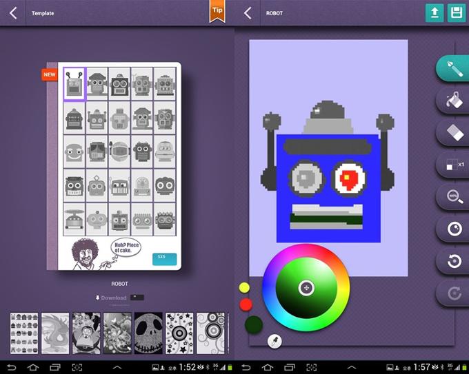 갤럭시 노트 10.1 어플 코코모