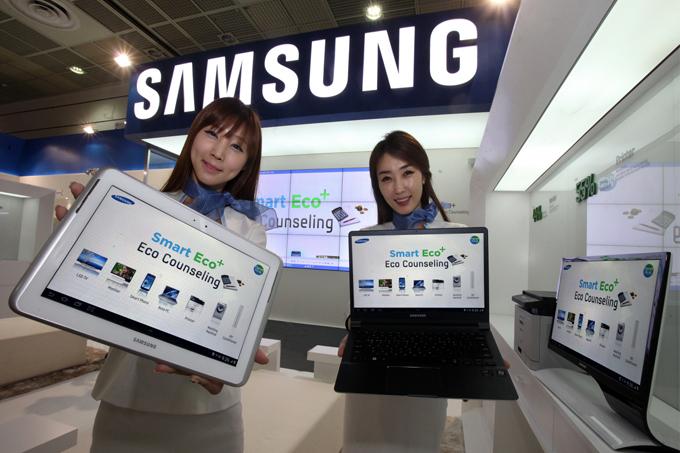 삼성전자의 스마트 에코 제품들