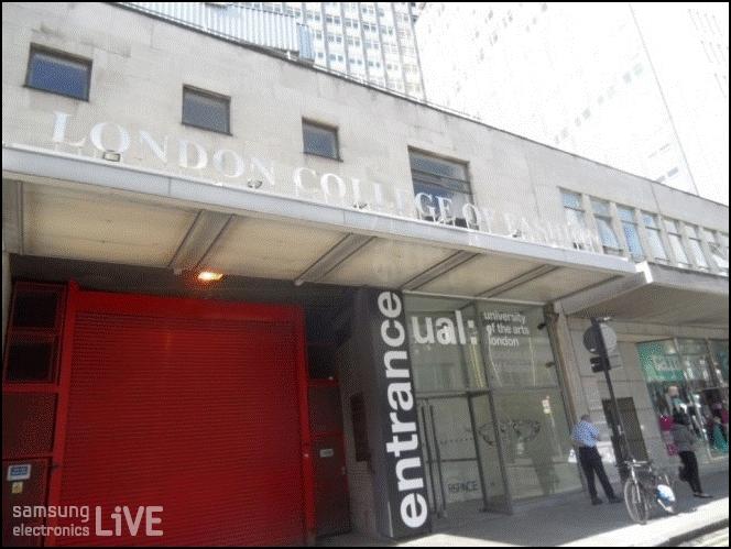 런던의 유명 패션 학교 London College of Fashion