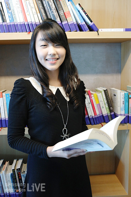 DS부문 화성캠퍼스에서 근무하는 김신애 사원