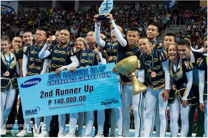 2위를 거머쥔 NationalUniversity의 'NU Cheer Squadron'팀