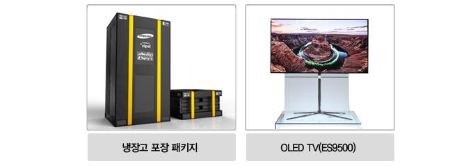 냉장고 포장 패키지, OLED TV (ES9500)