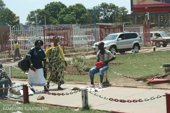 콩고 주민들