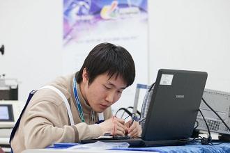 휴대폰수리기술경진 대회 모습