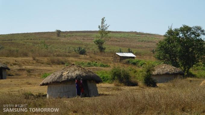마사이족의 전통가옥