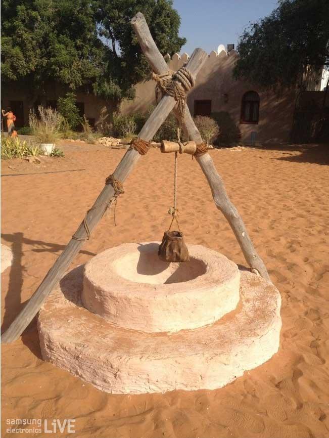 아부다비의 Heritage Village에 있는 구조물