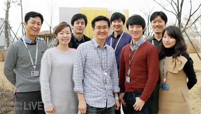 무선개발자 팀원들