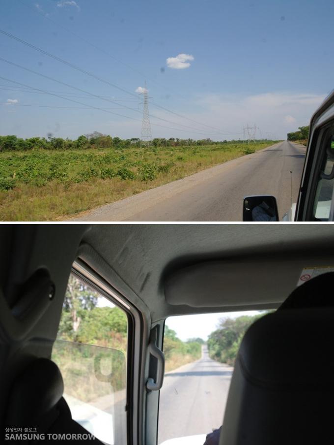 리카시로 가는 도중 찍은 풍경사진