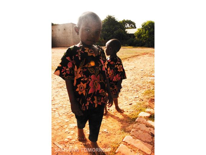 콩고의 어린아이