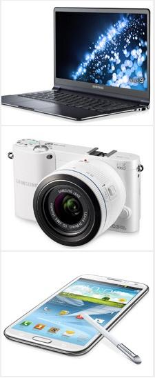 삼성 노트북 시리즈9,삼성 스마트 카메라 NX1000,삼성 갤럭시 노트Ⅱ