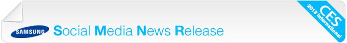 Social Media News Release