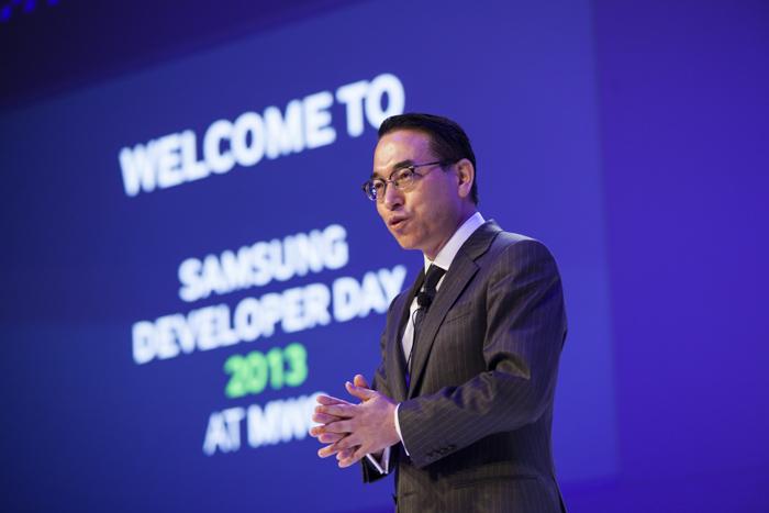 삼성 개발자 데이에서 삼성전자 미디어솔루션센터장 홍원표사장