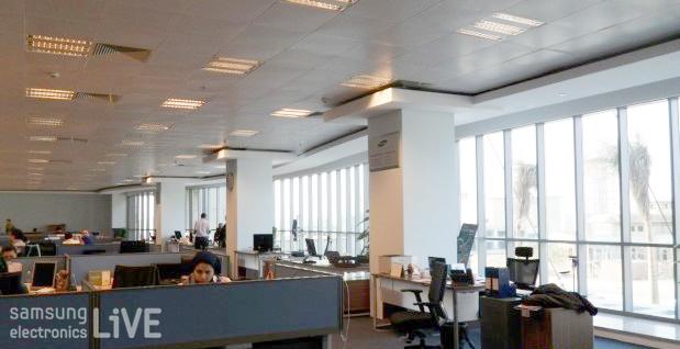 삼성전자 이집트 지점 사무실 내 모습