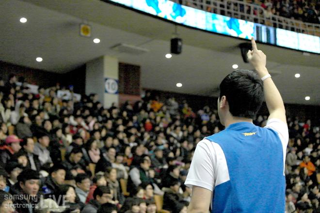서한국 응원단장