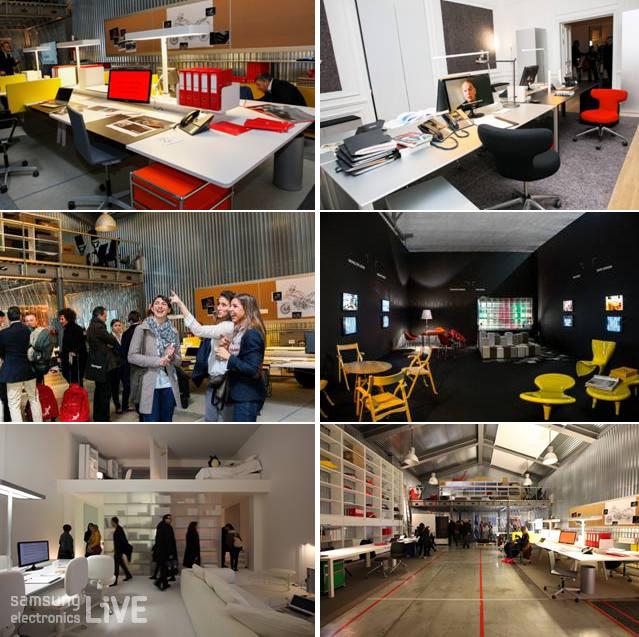 """스마트 회사 콘셉 (smart office concept) """"Project: Office for Living""""을 소개"""