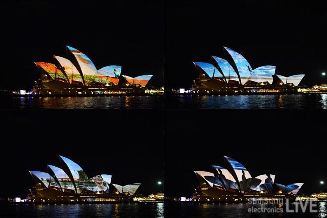 '오페라 하우스 프로젝션' 이벤트의 대표적인 사진들
