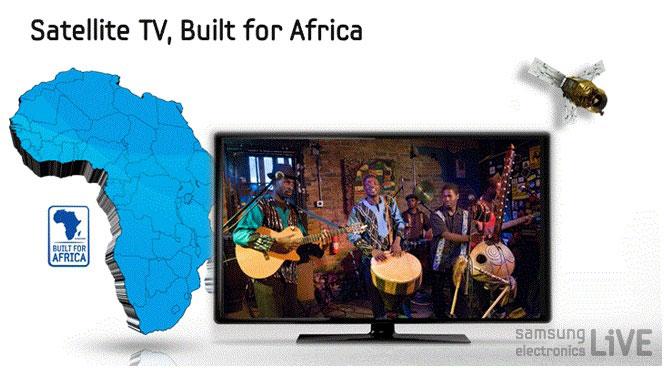 Satellite TV, Built for Africa TV