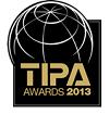 TIPA AWARDS 2013 로고