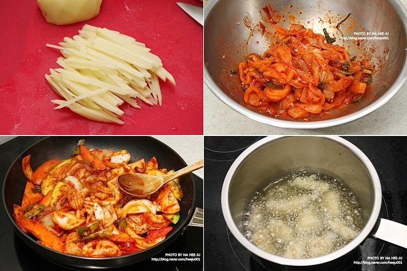 요리하는 이미지입니다.