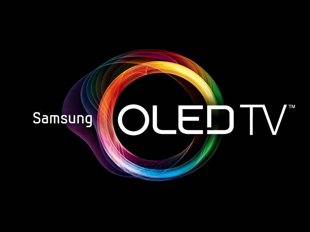 Samsung OLED TV 로고입니다.