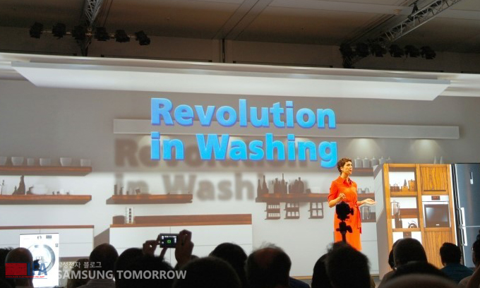 Revolution in washing