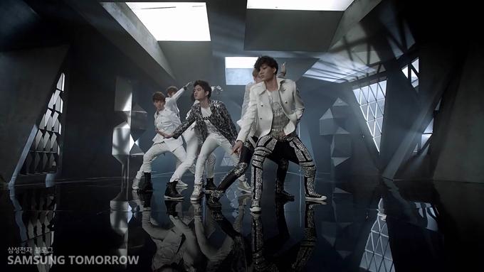 아티브 스마트 PC의 강력한 퍼포먼스와 닮은 EXO-K 멤버 전원의 댄스