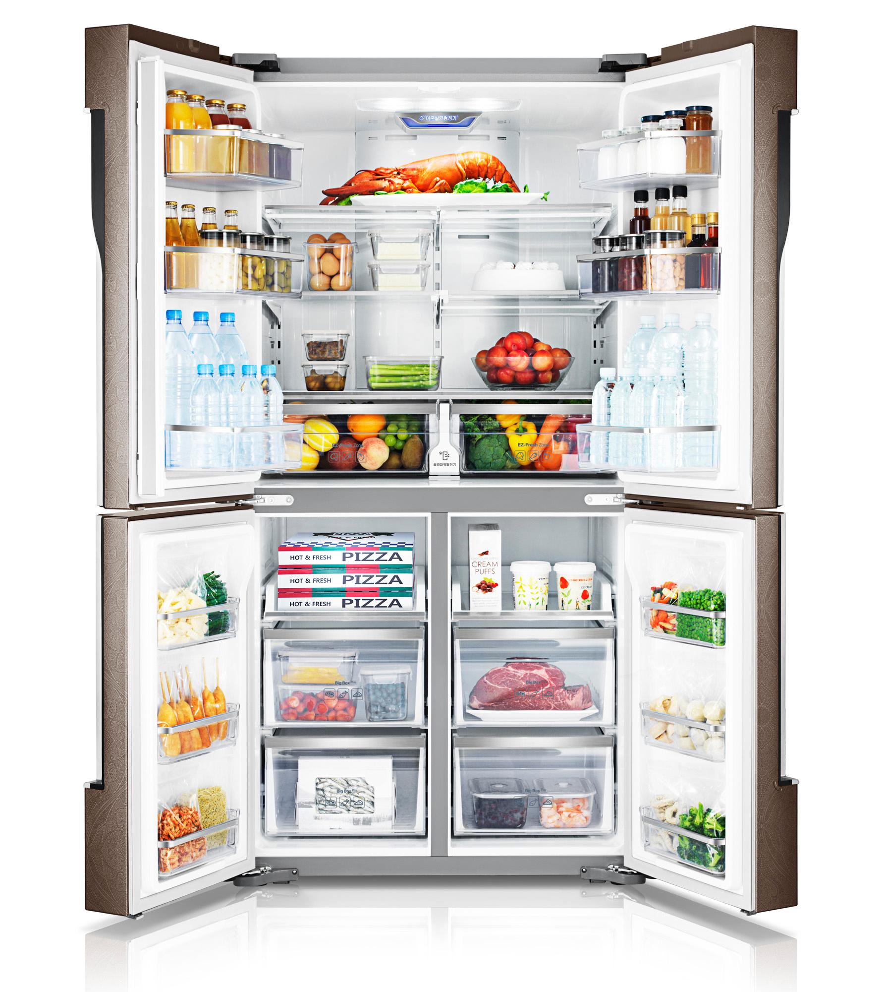 지펠T9000 냉장고 이미지입니다.