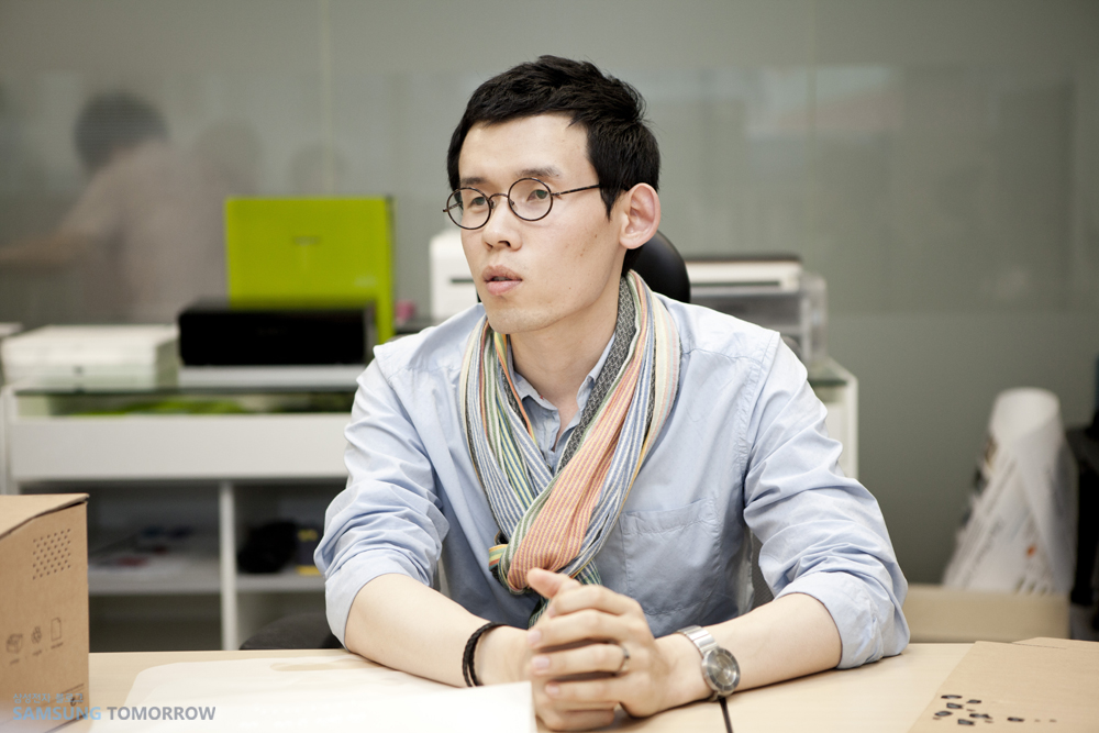 프린팅 솔루션 사업부 김민철 사원입니다.
