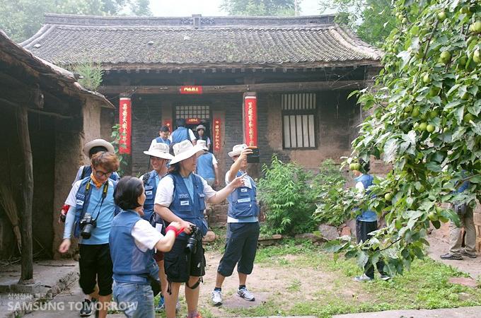 조선의용대 화북지대가 주둔하였던 곳의 현재 모습(2)