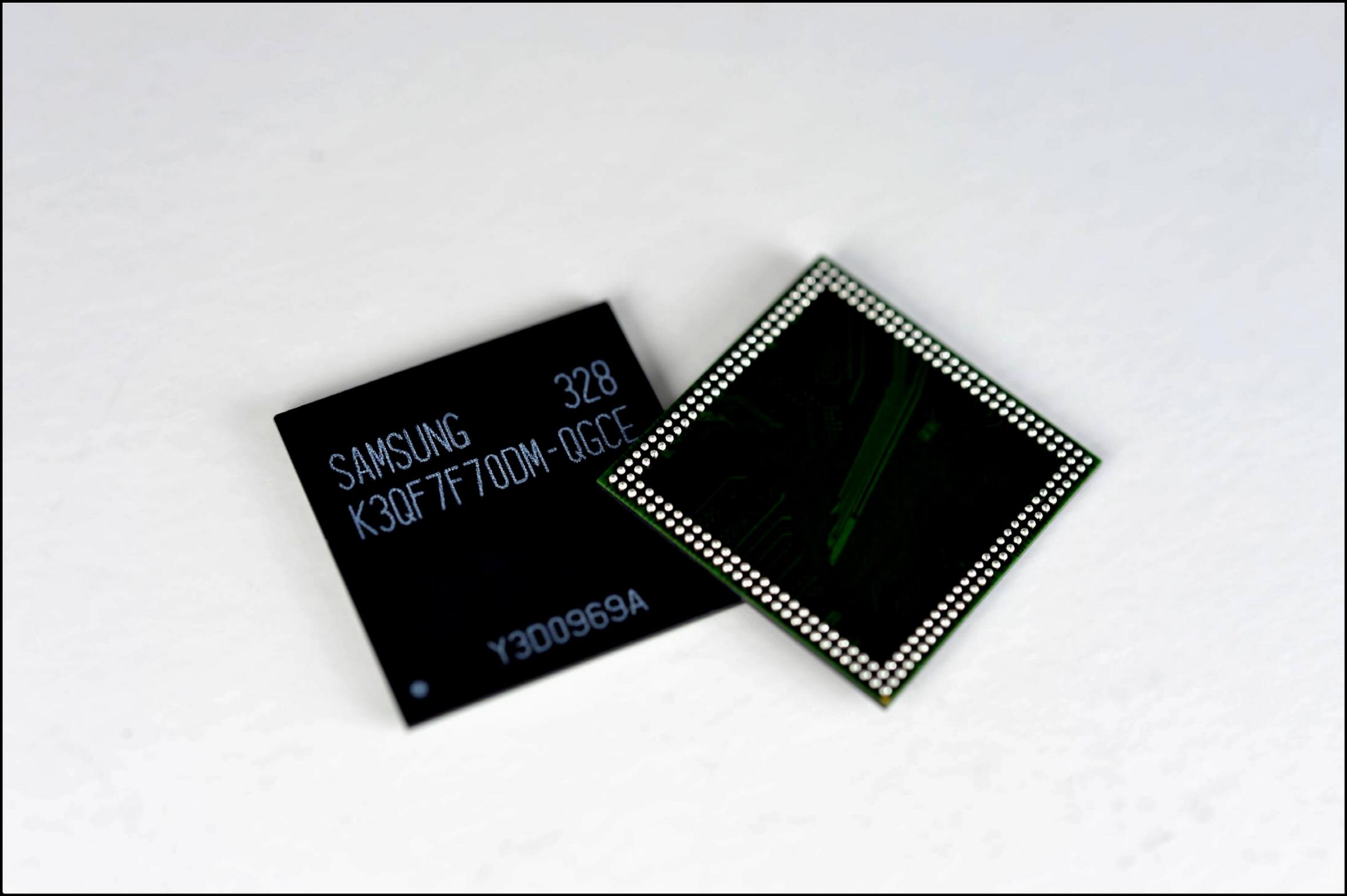 3GB 모바일D램 제품 사진입니다.