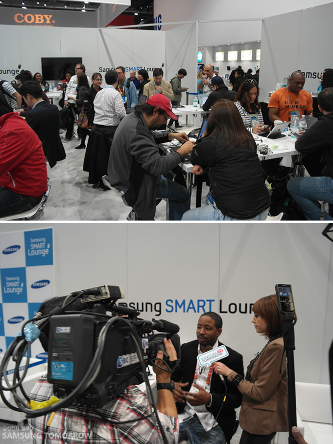 Samsung SMART Studio & Lounge