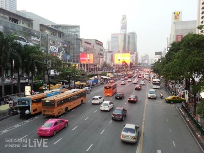 태국 도로
