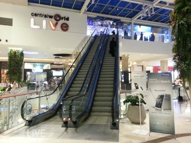 Central World Live에서 에스컬레이터를 타고 올라가보니 이런 곳이~