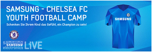 Samsung Chelsea FC YOUTH FOOTBALL CAMP