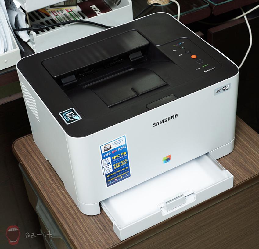 NFC C413W의 모습입니다.
