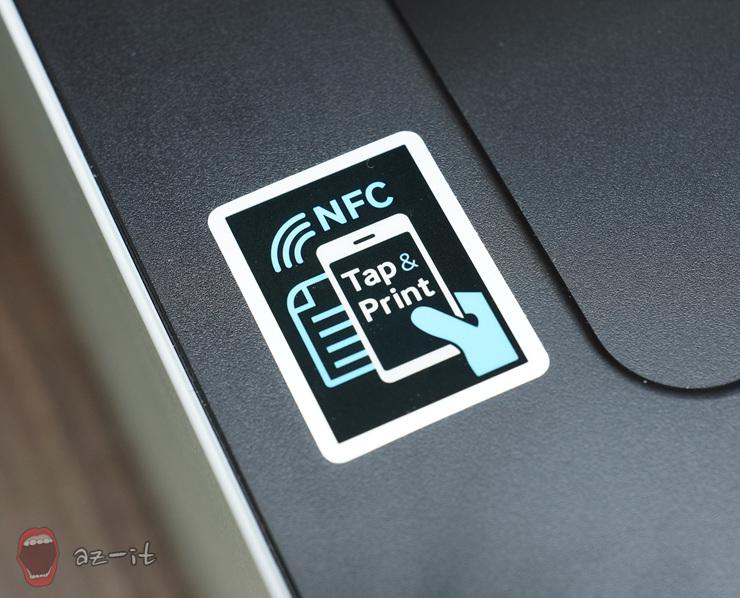 NFC 프린트 기능을 알려주는 태그입니다.