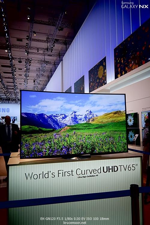 IFA2013에 전시된 삼성전자 UHD TV입니다.