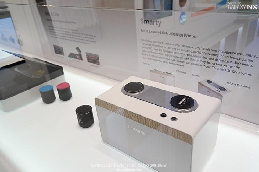 IFA2013에 전시된 삼성전자 프린터입니다.