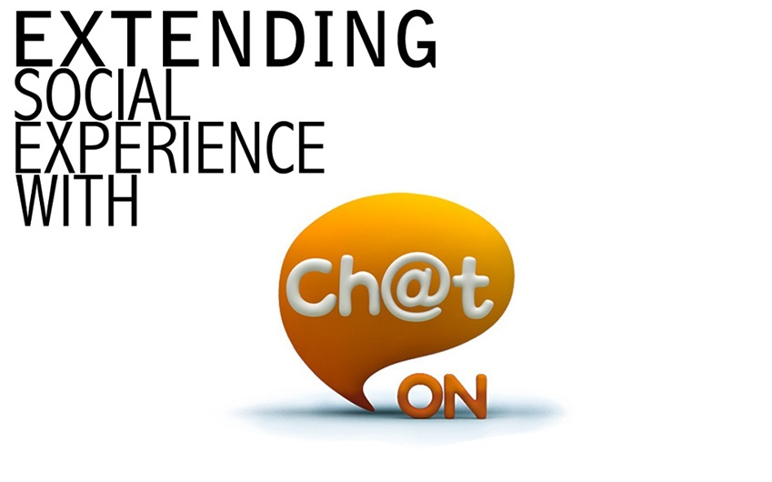 Expending Social Experience with ChatON API 로고 이미지입니다.