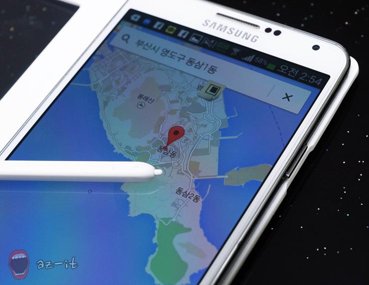 지도 검색을 누르니 구글 지도에서 자동으로 해당 주소를 찾아줍니다.