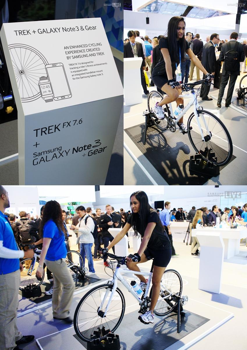 Trek FX 7.6 자전거와 GALAXY Note 3가 만났다! 바로 Commute Bike 모델입니다.
